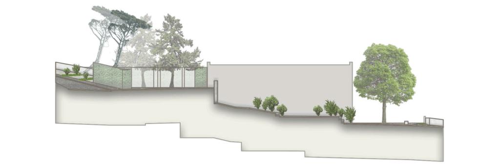 Querschnitt durch den Naschgarten des Kindergartens